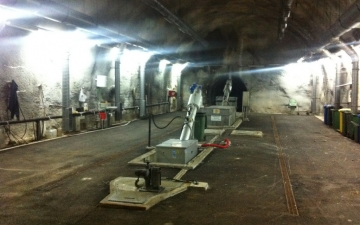Galerija tunela za kanalizaciju u Cavtatu